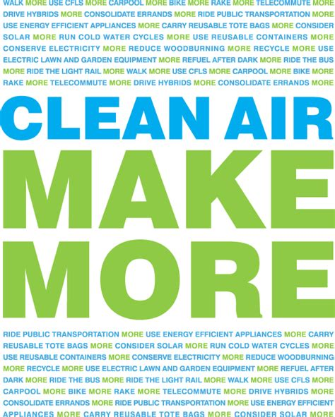 make clean clean air make more logos