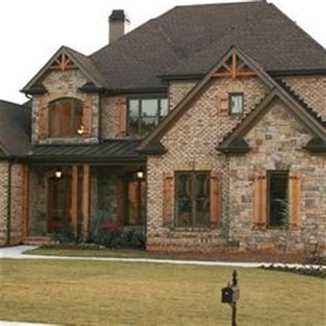 rock brick combination exterior home home improvement 1000 images about stone brick combos on pinterest