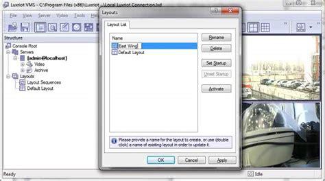 layout folder names faq luxriot