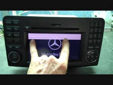 bose car stereo repair mercedes bose gl car stereo repair 2009 2012 screen