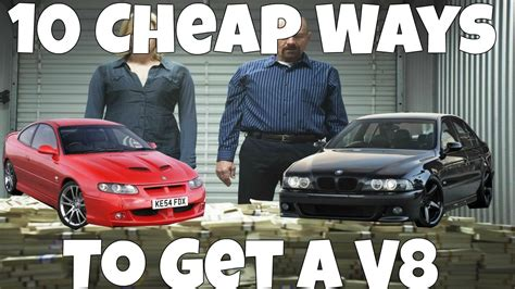Cheap Cars With V8 by 10 Cheap V8 Powered Cars