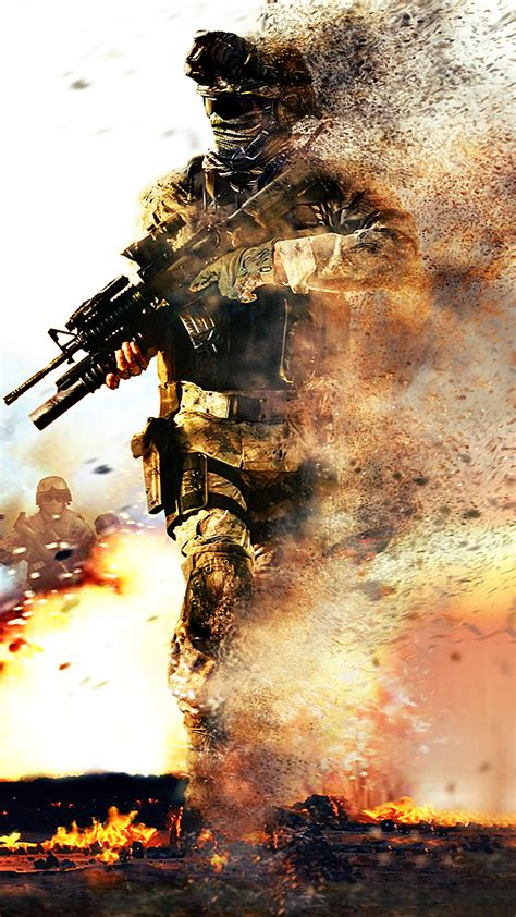 Modern Warfare 1080 x 1920 HD Wallpaper