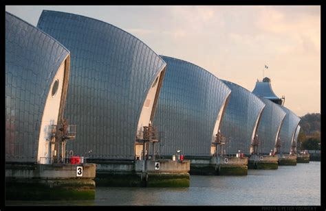 Thames Barrier Design Construction | technology hut the thames barrier