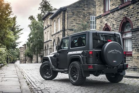 jeep truck black the chelsea truck company jeep wrangler black hawk