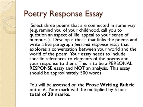 how to write a personal response paper write personal response essay