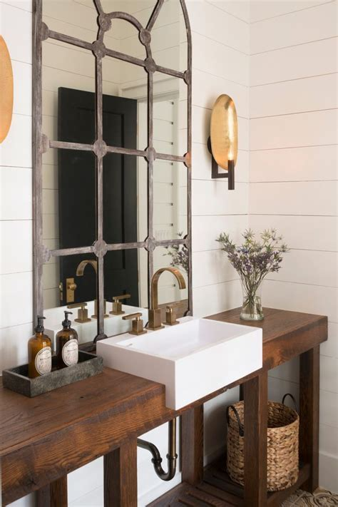 Outstanding Farmhouse Sink Vanity Home Renovations with