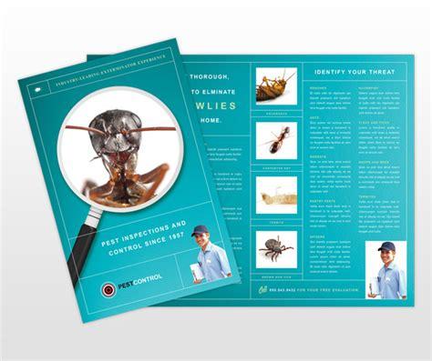Pest Control Services Business Brochure Templates Mycreativeshop Com Pest Brochure Template