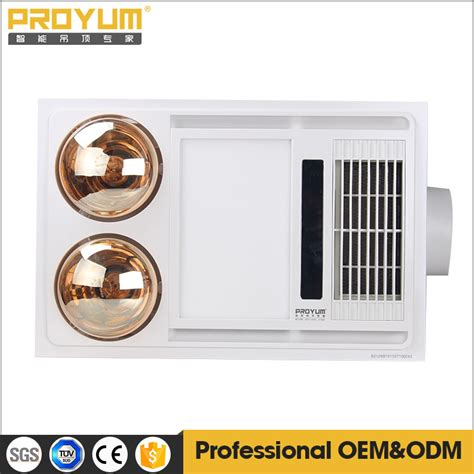 electric bathroom heaters ceiling mounted ceiling electric mounted ptc fan heater with infrared l