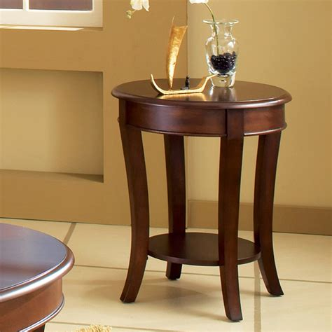cherry wood end tables steve silver troy cherry wood end table end tables