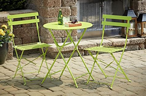 cosco 3 folding bistro style patio table and chairs cosco 3 folding bistro style patio table and chair