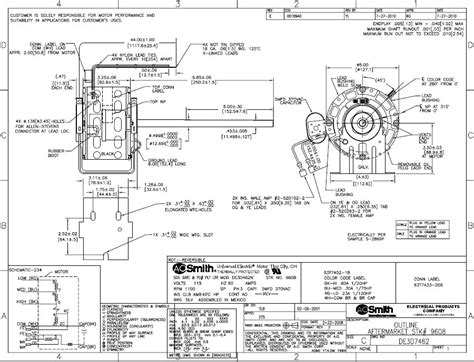 awesome ao smith motor wiring diagram gallery best image