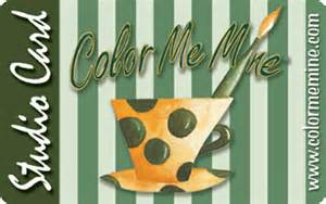 color me mine freehold the gift a color me mine studio card