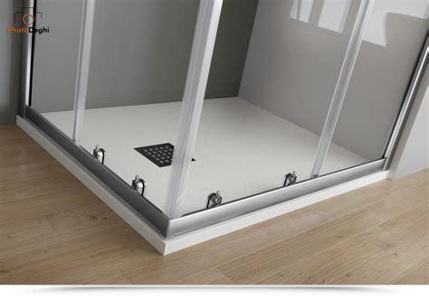 box doccia in cristallo temperato box doccia 70x100 cm in cristallo temperato trasparente 6 mm