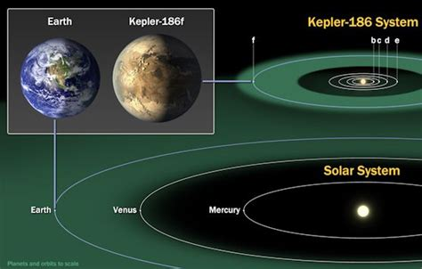 size of solar system in light years earth size planet found in the habitable zone of another