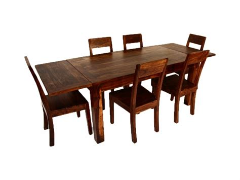 extension indian dining table