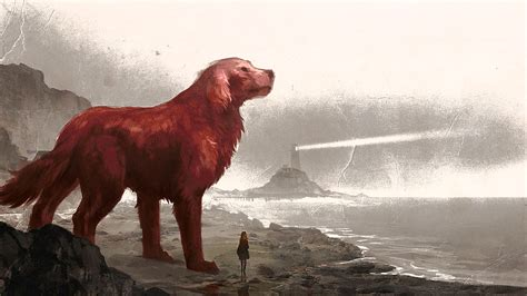 film giant dog clifford the big red dog full hd wallpaper and background