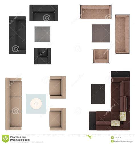 Sofas Set stock illustration. Image of chairs, interior