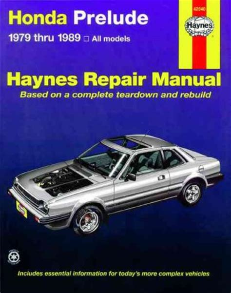 car engine manuals 1997 honda prelude regenerative braking honda prelude cvcc 1979 1989 haynes service repair manual sagin workshop car manuals repair