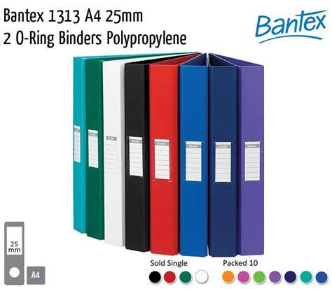 Bantex 1130 Laminated Ring Binder Folio 2o 25mm filing