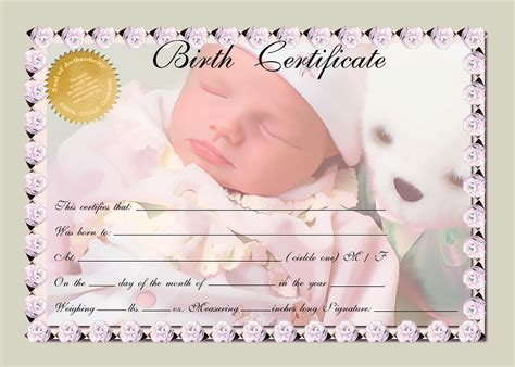 Free Birth Certificate Records Birth Certificate Green Multi By Afox2004 On Deviantart