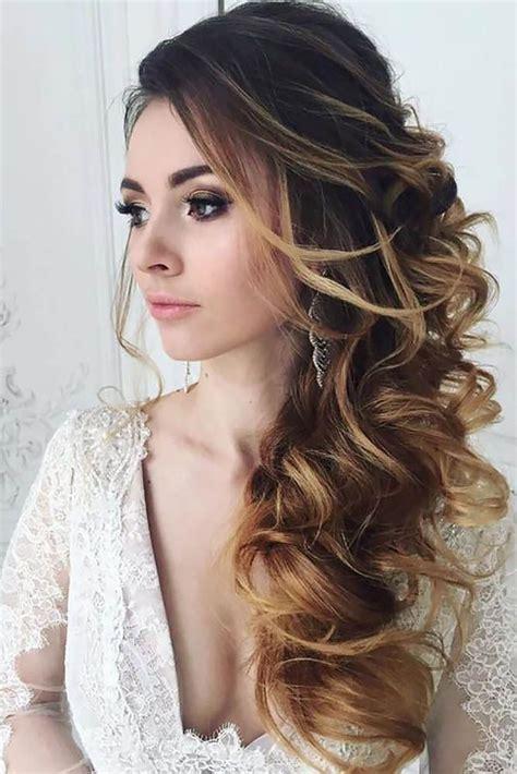 hairstyles easy down 39 half up half down wedding hairstyles ideas