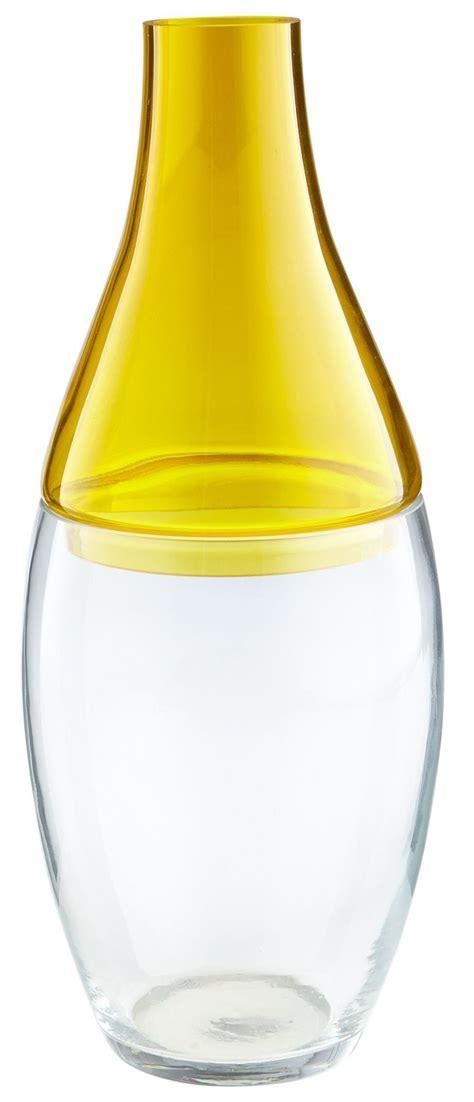 Large Yellow Vase Large Mellow Yellow Vase 8606 Cyan Design