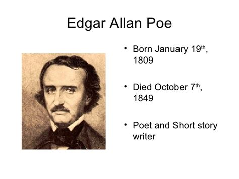 edgar allan poe biography project edgar allan poe bio