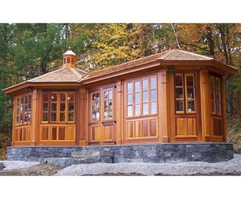 Outdoor Enclosed Gazebo Vixen Hill Gazebo House Enclosed Gazebo
