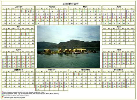 Calendrier Photo Calendrier 2016annuel Avec Photo Agenda Synth 233 Tique