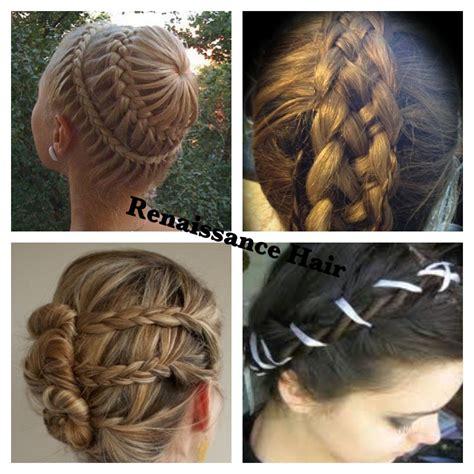 diy renaissance hairstyles best 25 renaissance hairstyles ideas on pinterest