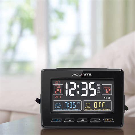 acurite 13024 alarm clock w indoor temperature acurite 13024 atomic alarm clock acurite 13024