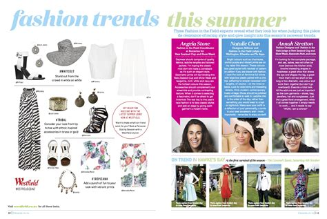 Trend Magazine 187 fashion trends this summer race day magazine angela