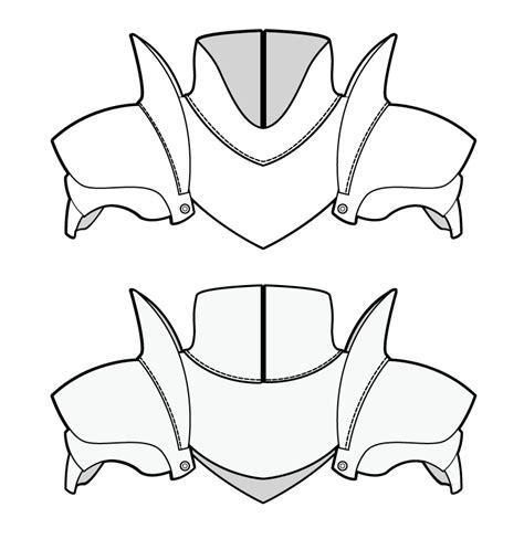 Body Armour Pattern Costuming Diys Pinterest Patterns Bodies And Cosplay Armor Templates