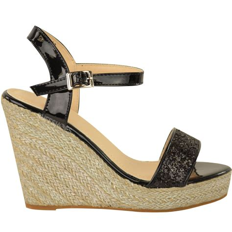 summer wedge sandals womens wedge high heel sandals summer ankle