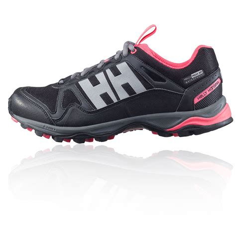 waterproof sneakers helly hansen pace ii ht womens black waterproof running