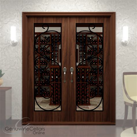 wine cellar doors glass wine cellar doors w ironwork