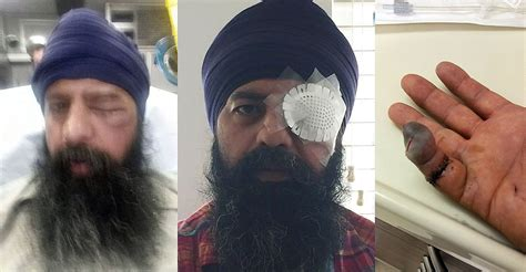 long haircut story for sikh attackers assault sikh man remove turban cut off his