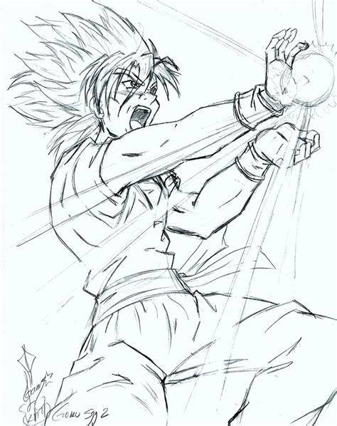 imagenes de goku haciendo el kamehameha para dibujar goku sjj kamehameha sketch by sam khy on deviantart