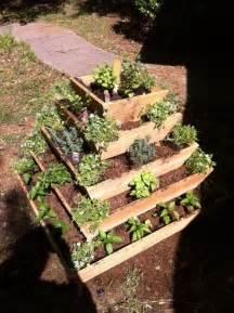 pyramid planter herb garden strawberry planter vertical