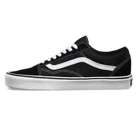 Vans Skool Canvas Black White Sneakers Vans Skool Lite Suede Canvas Black White