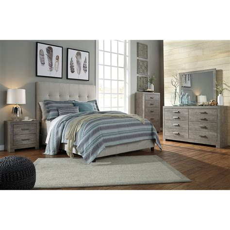 ashley furniture tufted headboard ashley signature design contemporary upholstered beds