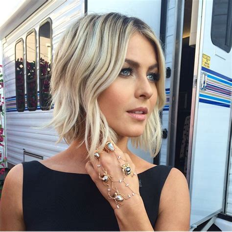 short hair lob 18 easy short hairstyles with bangs blonde lob lob and