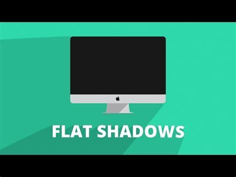 tutorial after effect flat design after effects 2d flat shadows tutorial youtube