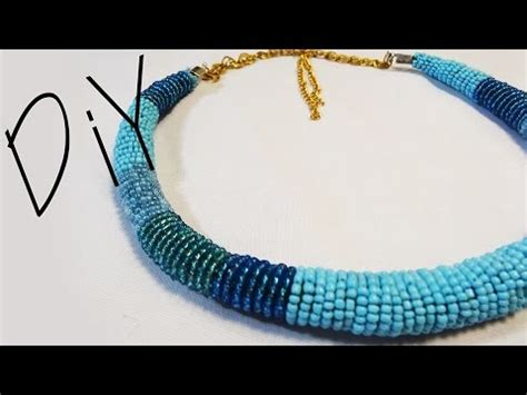 how to do beading bead necklace do it yourself