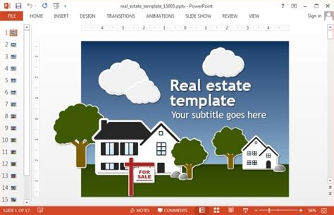 Animated Real Estate Powerpoint Templates Powerpoint Templates For Real Estate