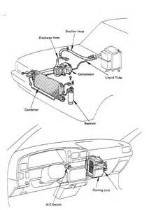 Where is the low side AC port on a 1989 toyota pickup. I
