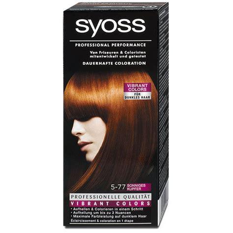 Sho Syoss syoss professional performance dauerhafte coloration