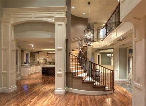 beautiful open floor plans gorgeous open floor plan spiral staircase our home