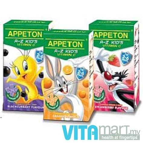 appeton a z kid s vitamin c 100 s end 4 10 2018 7 15 pm