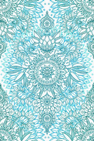 blue mandala pattern boho patterns tumblr google search art inspo